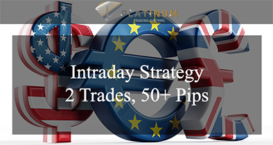 Intraday Trading Strategy 2 Trades, 50+ Pips