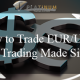 How to trade EUR/USD Trap Trading Made Simple