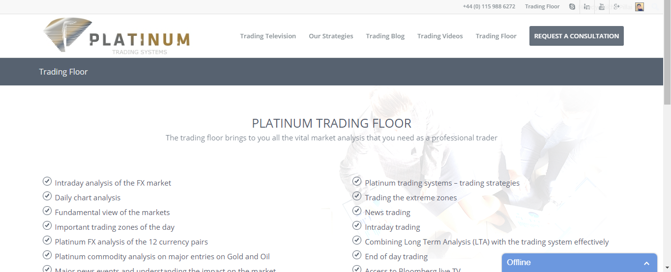 Trading floor systems
